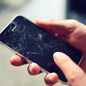 smartphone kapot